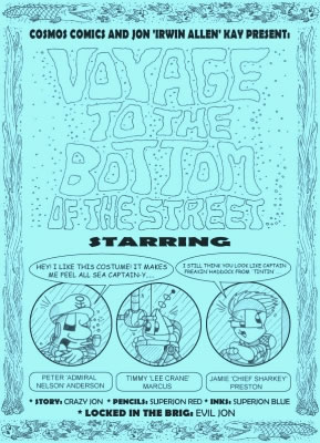 Voyage to the Bottom of the Street by Jon Kay