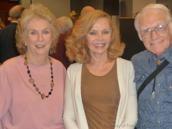 Carolyn, Deanna Lund and Dr. Fred at the 2011 Western Film Fair
