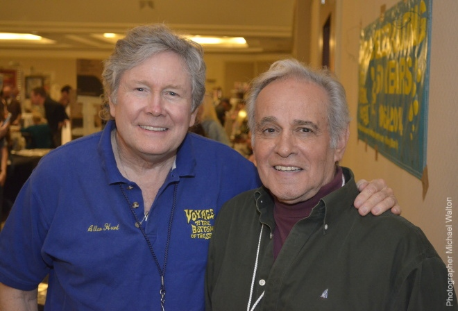 Allan Hunt and Derrik Lewis, stars of Voyage to the Bottom of the Sea