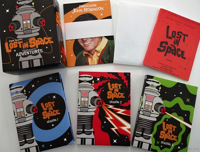 Blu-Ray box set of the complete Lost in Space series