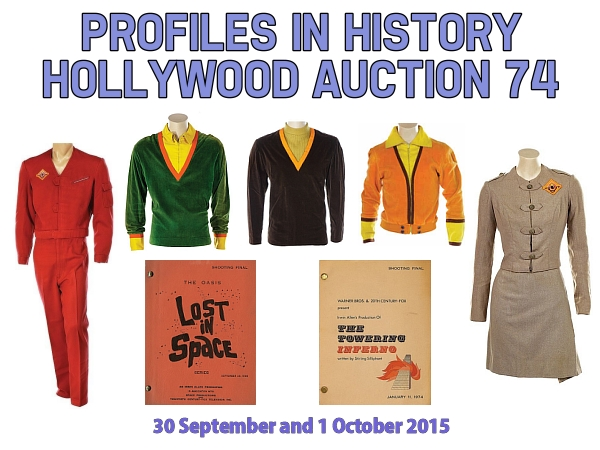 Profiles in History Hollywood Auction 74