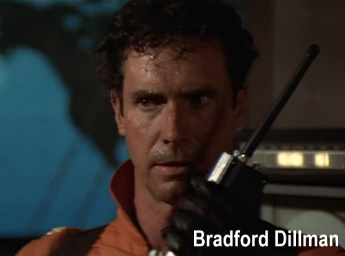 Bradford Dillman in Irwin Allen's The Swarm