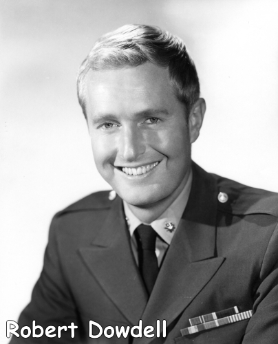 Robert Dowdell as Lt. Commander Chip Morton in the classic TV series Voyage to the Bottom of the Sea