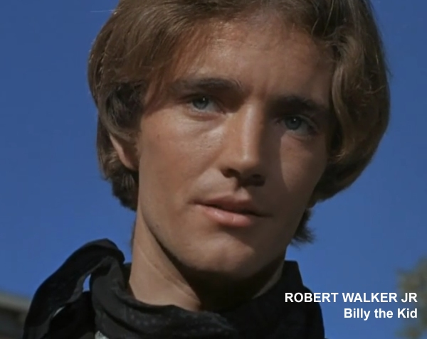 "Robert Walker Jr. in The Time Tunnel episode ""Billy the Kid"""