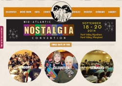 Mid-Atlantic Nostalgia Convention on 18-20 September 2014
