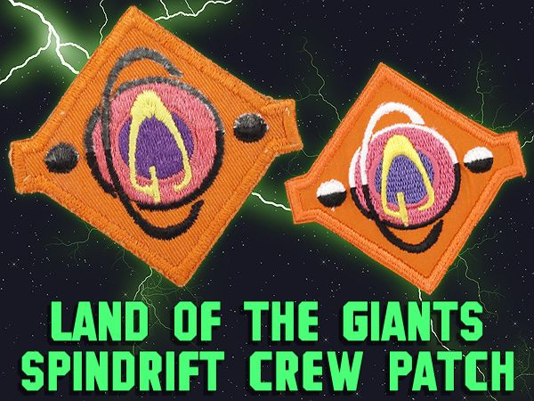 Land of the Giants Spindrift Crew Patch