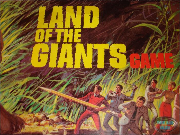 Ideal land of the giants board game