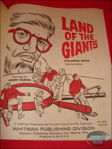 Land of the Giants Coloring Book