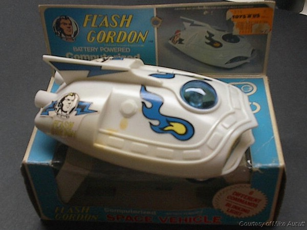 Flash Gordon Computerized Space Vehicle