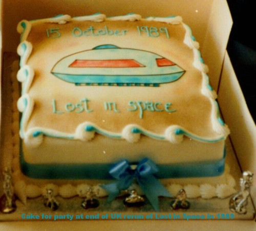 1989 Lost in Space Party Cake!