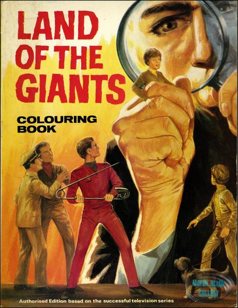 British Land of the Giants Colouring Book