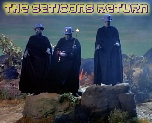 The Saticons in Lost in Space 'The Galaxy Gift'