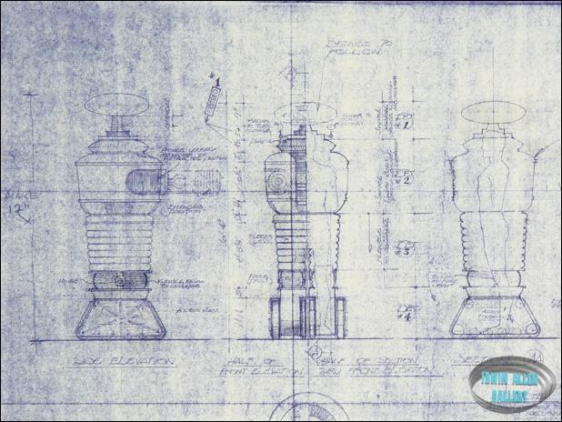 B-9 Robot Blueprint Pacific Rim Blueprints