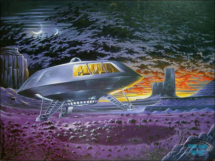 Jupiter 2 Spaceship Photo Gallery http://www.iann.net/lis/collectibles/gallery/posters/jupiter_2_print/j2_print.htm