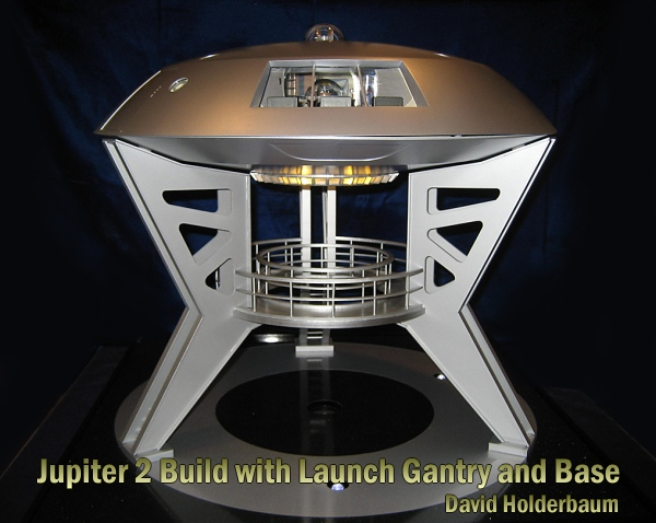 Jupiter 2 with Launch Gantry and Base