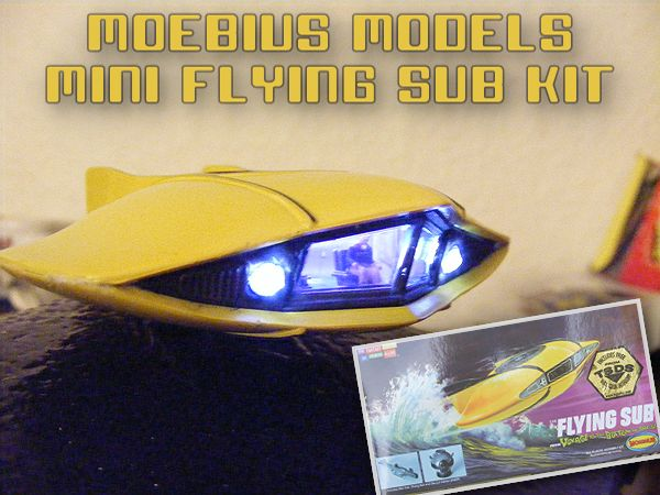 Moebius Models Mini Flying Sub Kit