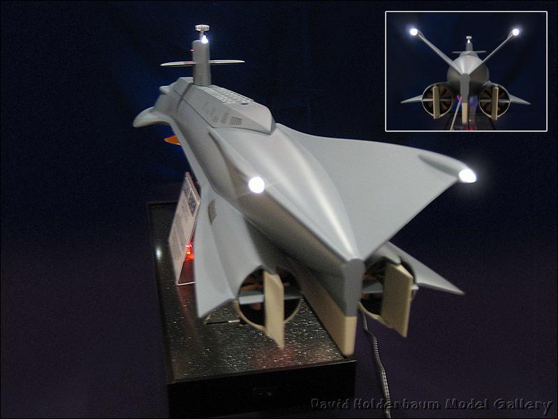 Moebius Models Seaview Build 3