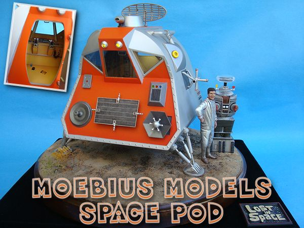 Moebius Models Space Pod