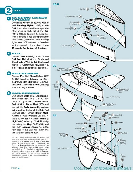 8 Window Seaview Instructions Page 4