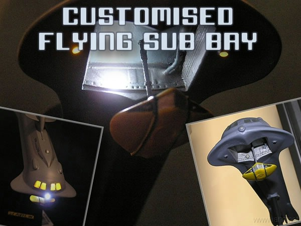 Simon Mercs customised Seaview with Flying Sub bay