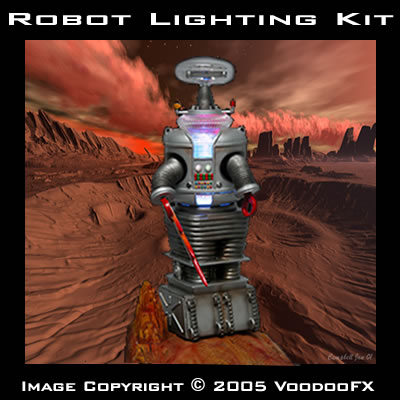 VooDooFx lighting for Robot