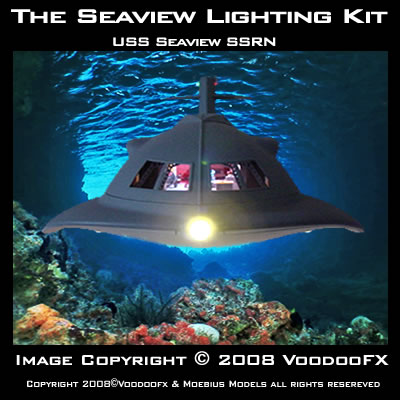 VooDooFx lighting for the Moebius Seaview
