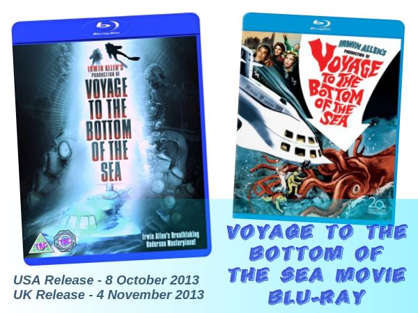 Voyage to the Bottom of the Sea Movie Blu-Ray