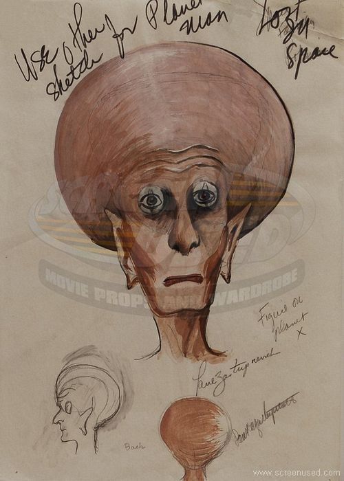 Paul The Alien Drawing
