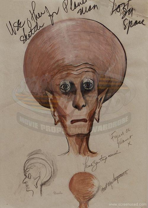 Paul The Alien Drawing