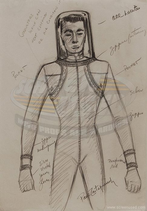 detailed space suit - photo #21