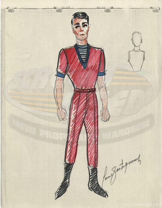 Paul Zastupnevich Male Costume For Lost In Space