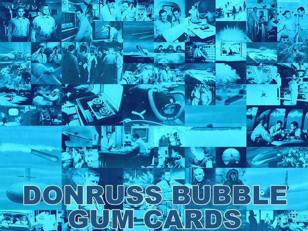 Voyage to the Bottom of the Sea Donruss Bubble Gum Cards