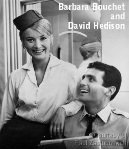 Barbara Bouchet and David Hedison