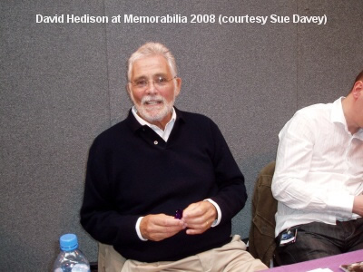 David Hedison at the Memorabilia 2008